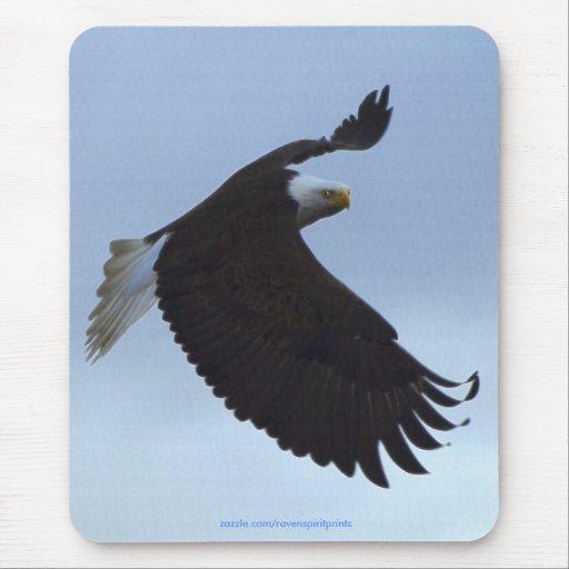 Colección fresca de la fauna de Eagle calvo Alfombrillas De Raton
