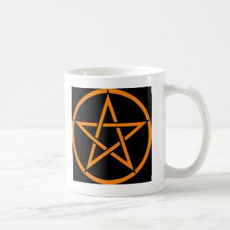 Colección fresca del Pentagram de la bruja Taza Clásica