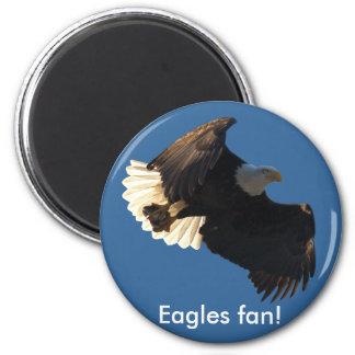 Colección II del vuelo de Eagle calvo Imán Para Frigorífico