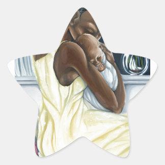 Colección instintiva del niño de la madre pegatina en forma de estrella