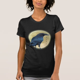 Colección negra III de la moda de la luna del Camisetas
