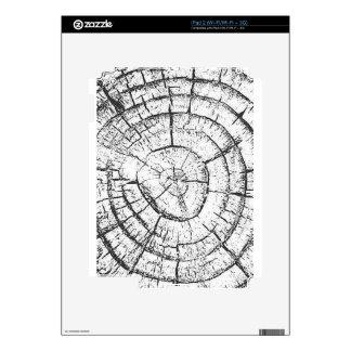 Colección negra y blanca del contemporáneo del calcomanías para iPad 2