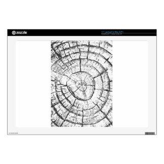 Colección negra y blanca del contemporáneo del portátil 43,2cm skins