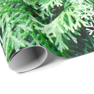 Colección para siempre verde. ¡Bendiga esta Papel De Regalo