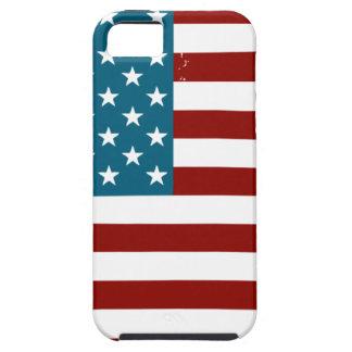 Colección patriótica del vintage iPhone 5 carcasa