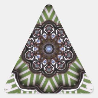 colección calcomanías trianguladas