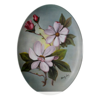 Colección privada de Dorothy Sainz Montoya Badeja De Porcelana
