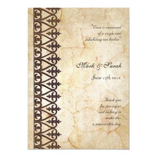 Colección Progra que se casa de encargo del Invitación 12,7 X 17,8 Cm