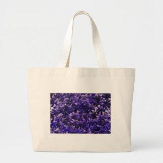 Colección púrpura de la pasión bolsas lienzo