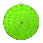Colección retra de la verde lima de Fluoro Tablero Dardos