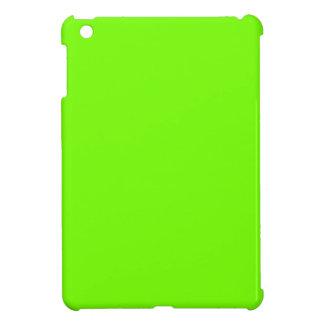 Colección retra de la verde lima de Fluoro iPad Mini Protector