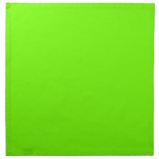 Colección retra de la verde lima de Fluoro Servilletas De Papel