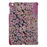 Colección rosada del leopardo iPad mini cárcasa