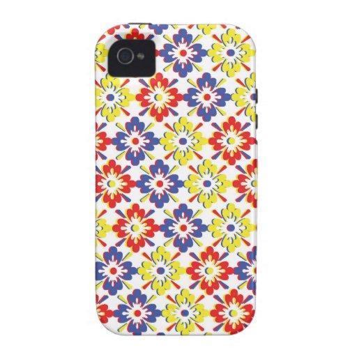 Colección salvaje de la flor de la belleza iPhone 4/4S carcasa