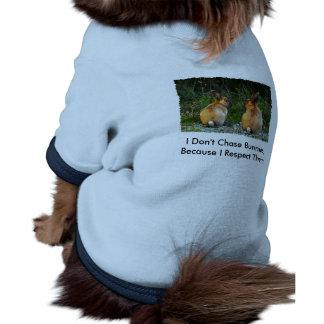 Colección salvaje del conejo del AMOR del CONEJITO Ropa De Perros