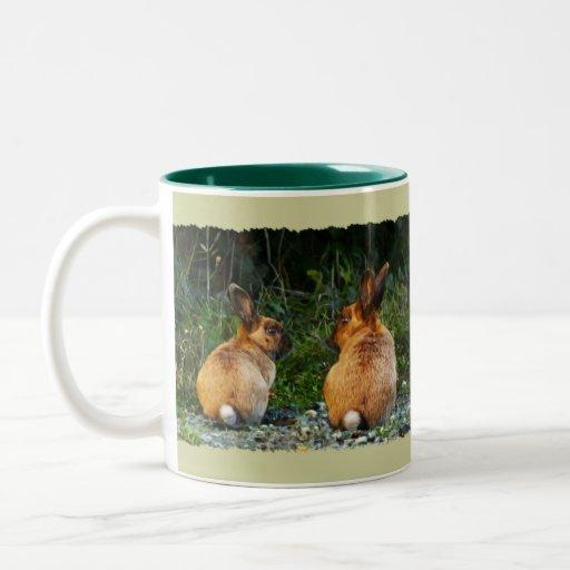 Colección salvaje del conejo del AMOR del CONEJITO Taza De Café