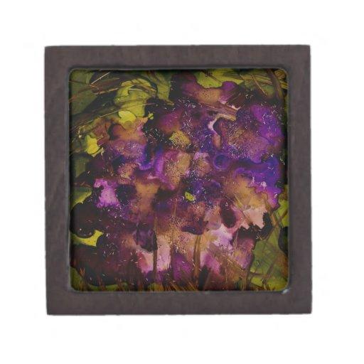 Colección salvaje del jardín v6 cajas de joyas de calidad