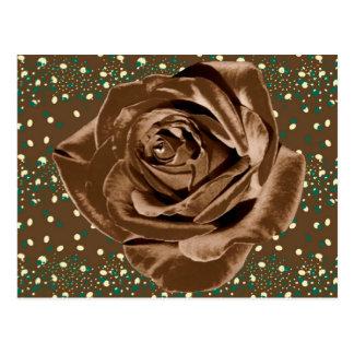 """Colección subió """"chocolate"""" del modelo postal"""