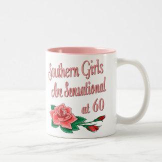 Colección subió cumpleaños meridional del chica taza de dos tonos