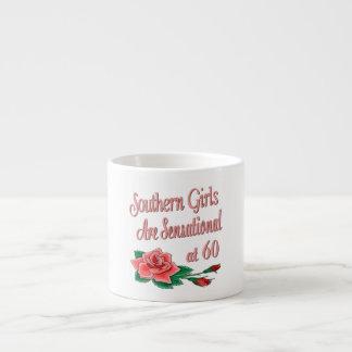 Colección subió cumpleaños meridional del chica taza espresso
