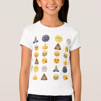 Colección superior del emoji playera