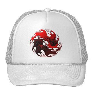 Colección tribal de los productos de Yin Yang Gorras De Camionero