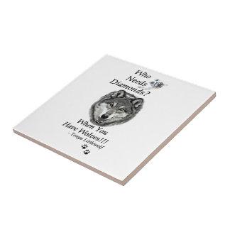 Colección Trivet del diamante Azulejo Cuadrado Pequeño
