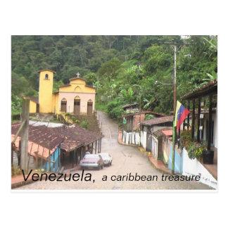 Colección Venezuela un tesoro del Caribe Tarjetas Postales