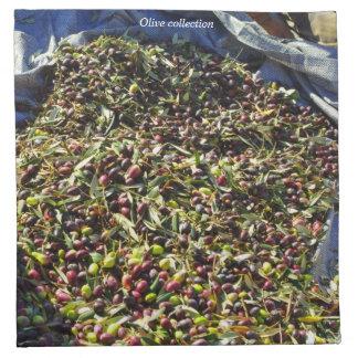 Colección verde oliva servilletas