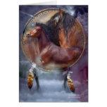 Coleccionable ArtCard de los caballos del alcohol