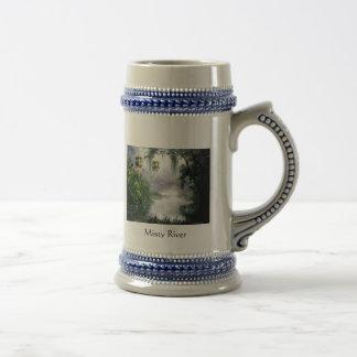 Coleccionable brumoso Stein del río Taza De Café
