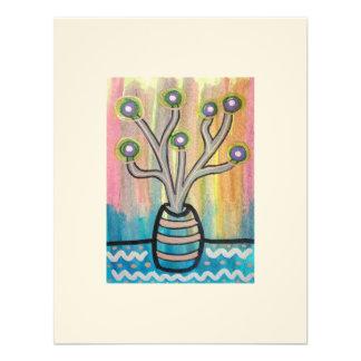 Coleccionable de la planta ACEO del cactus arte a
