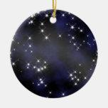 Coleccionable del espacio profundo - personalice ornamento de navidad