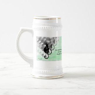 Coleccionable Stein del Seahorse del arte del Haik Taza De Café