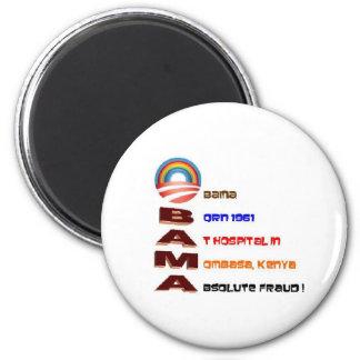 Coleccionables antis de Obama Imán Redondo 5 Cm