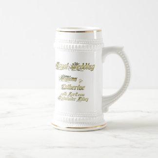 Coleccionables reales del boda de Guillermo y de K Tazas De Café