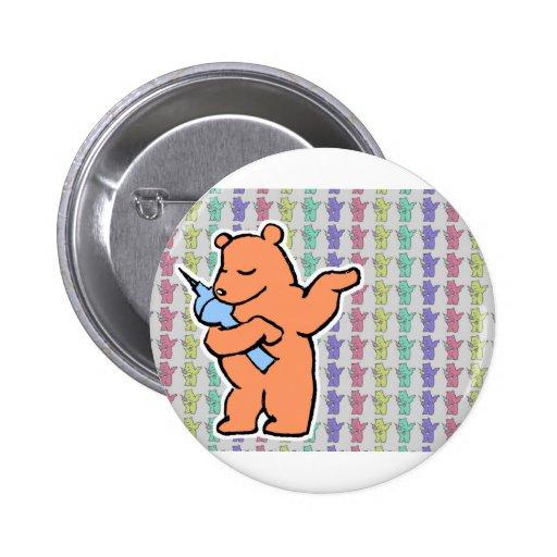 Colecciones berlinesas del oso pin redondo 5 cm