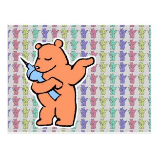 Colecciones berlinesas del oso tarjetas postales