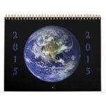 Colecciones de la tierra 2015 calendarios