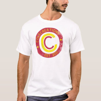 Colecreations Established Tee Cardinal Red Yellow