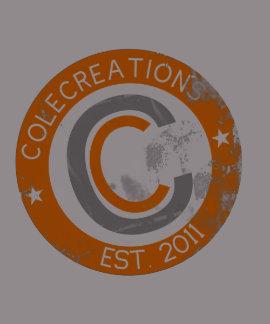Colecreations Established Tee Orange White