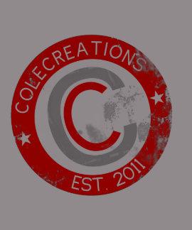 Colecreations Established Tee Red Grey