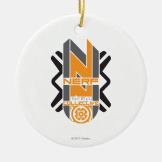 Colectividad de Nerf - 1 Adorno Navideño Redondo De Cerámica