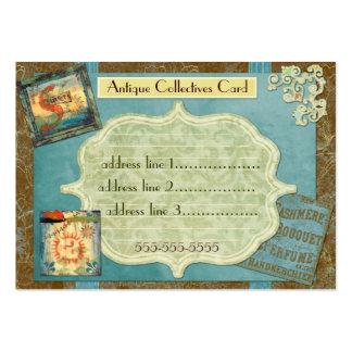 Colectividades antiguas de encargo tarjetas de visita grandes