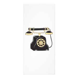 Colector antiguo de encargo del teléfono del dial tarjetas publicitarias personalizadas