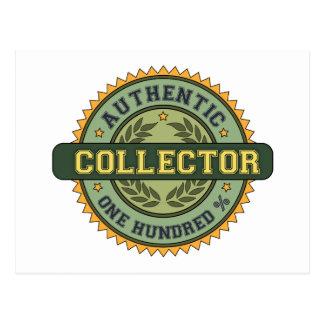 Colector auténtico postales