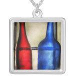 Colector - botellas - dos botellas de vino vacías pendiente personalizado