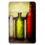 Colector - botellas - todavía vida de tres botella imanes de vinilo