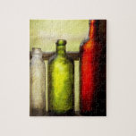Colector - botellas - todavía vida de tres botella rompecabezas