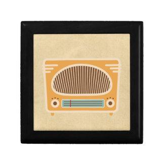 Colector de radio del tubo vintage cajas de recuerdo